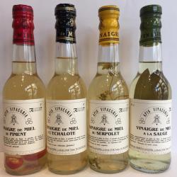 Vinaigres de miel aromatisés 25cl / 4€